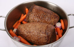 Pot roasting Royalty Free Stock Photo