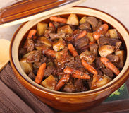 Pot of Stew Royalty Free Stock Photo