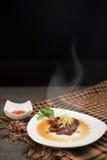 Pot-stewed blood tofu Stock Photos