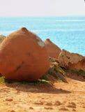 POT storici della Cipro e pace del mare Fotografia Stock