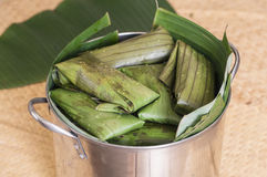 Pot of tamales Stock Image