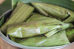Pot of tamales Royalty Free Stock Photo