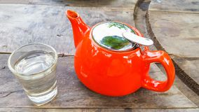 A pot of tea Royalty Free Stock Photo