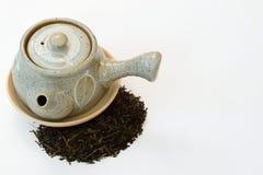 Pot of tea Stock Photo