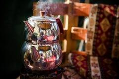 Pot of tea Royalty Free Stock Image