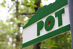 Pot - the Trail Royalty Free Stock Image
