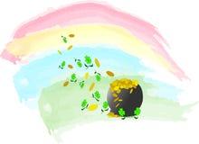 Pot van Goud vector illustratie