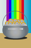 Pot van Goud Royalty-vrije Stock Afbeelding