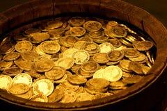 Pot van Goud stock afbeelding