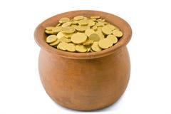 Pot van goud Stock Fotografie
