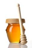 Pot van honing Stock Foto's