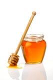 Pot van honing Stock Afbeelding