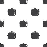 Pot, vector seamless pattern Royalty Free Stock Images