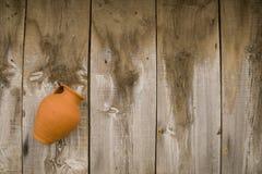 Pot at the wall Royalty Free Stock Image