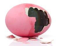 Potażu utrzymany jajko Zdjęcia Stock