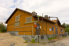The potable water treatment plant for yellowknife Royalty Free Stock Photos