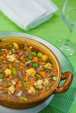 Potage 1 de Minestrone Photo stock