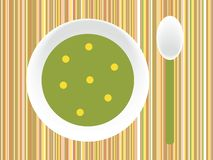 Potage illustration libre de droits