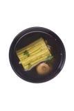 Potage amer de melon en bouillon de Sparerib Photographie stock
