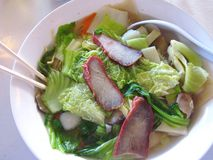 Potage asiatique Photos stock