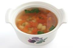 Potage aux légumes Images libres de droits