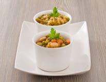 Potage aux légumes. photographie stock