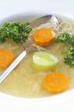 Potage aux légumes Photos libres de droits