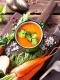 Potage aux légumes Photographie stock libre de droits