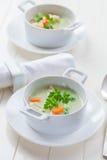 Potage aux légumes avec le bulgur Image libre de droits