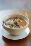 Potage aux légumes de tamarinier Photographie stock libre de droits