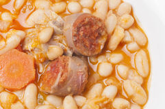 Potage of beans Royalty Free Stock Photography