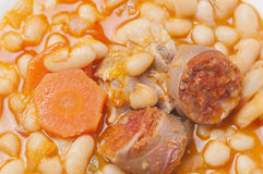 Potage of beans Royalty Free Stock Images