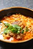 Potage coréen photo stock