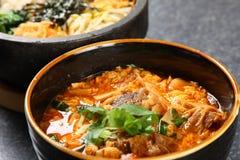 Potage coréen photos libres de droits