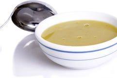 Potage crème ..... Photographie stock