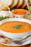Potage crème de lentille Images stock