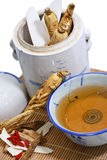 potage de 02 ginsengs traditionnel Image libre de droits