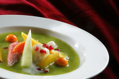 Potage de fruit Photos libres de droits