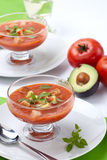 Potage de Gazpacho Image stock