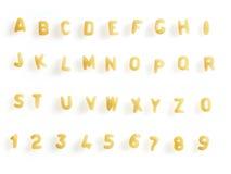 Potage de lettre Image stock
