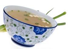 Potage de miso frais images stock