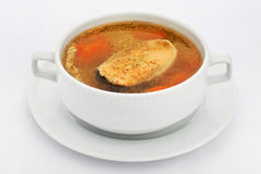 Potage de poissons Images stock