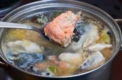 Potage de poissons photos stock