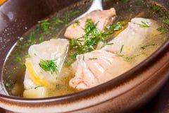 Potage de poissons Photo libre de droits