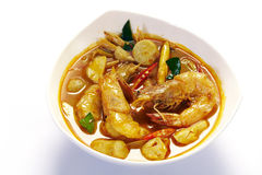Potage de Tom Yum Image stock