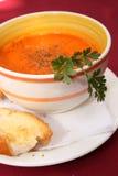 Potage de tomate et de poivre Image stock