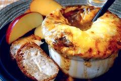 Potage français d'oignon Images stock