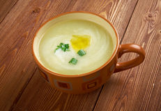 Potage Parmentier Royalty Free Stock Photography