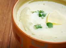 Potage Parmentier Stock Photo