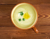 Potage Parmentier Royalty Free Stock Image